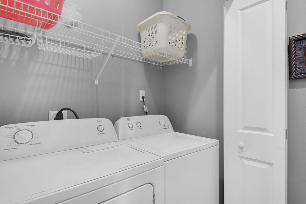 First Floor: Laundry Room